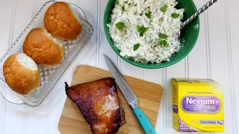 Bourbon Soaked Pork Belly Sliders With Spicy Coleslaw Recipe 3